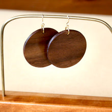 Load image into Gallery viewer, The Lundyn Earrings in Walnut
