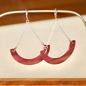The Melanie Earrings in Cedar