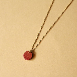 The Camille Necklace in Cedar