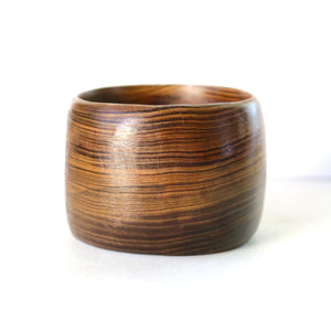 Chunky Bangle in Louisiana Sinker Cypress