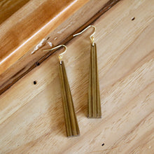 Load image into Gallery viewer, The Nina Earrings in Louisiana Sinker Cypress