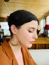 Load image into Gallery viewer, The Melanie Earrings in Louisiana Sinker Cypress