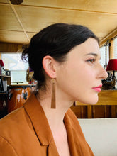 Load image into Gallery viewer, The Nina Earrings in Walnut