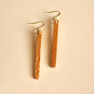 The Stick Earrings in Sycamore