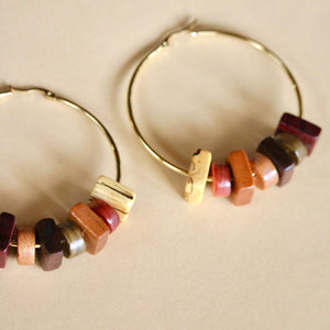 The Angie Hoops in Multi
