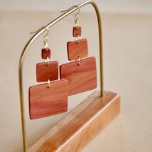 Load image into Gallery viewer, The Gabrielle Earrings in Cedar