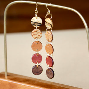 The Lizzy Earrings in Multi