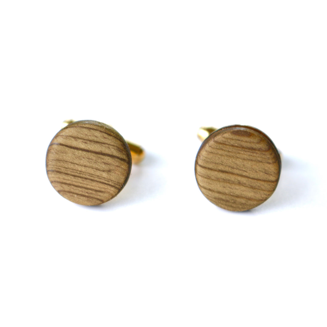 Cufflinks in Louisiana Sinker Cypress