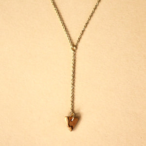 The Elizabeth Necklace in Spalted Pecan
