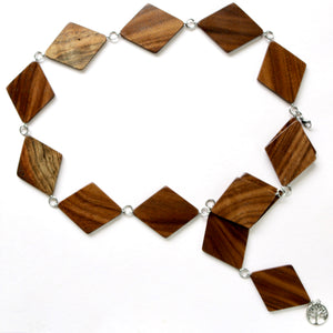 The Diamond Belt in Walnut