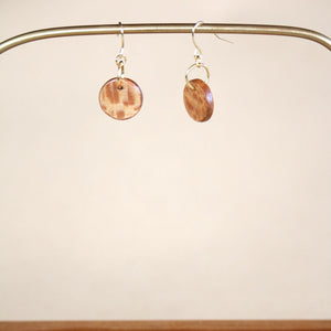 The Camille Earrings in Sycamore