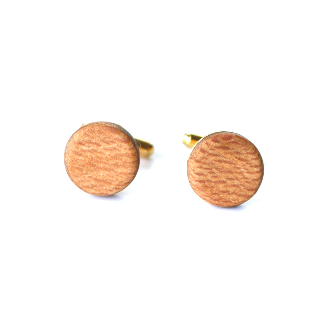 Cufflinks in Sycamore