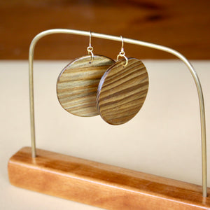 The Lundyn Earrings in Louisiana Sinker Cypress