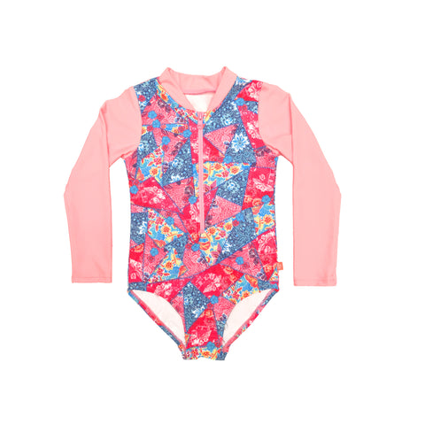 1010 Miss Batiki Sunsuit - Salty Ink