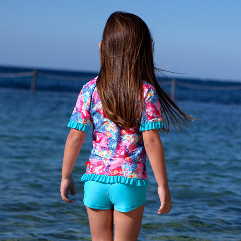 1011 Miss Batiki Sunvest Set - Salty Ink