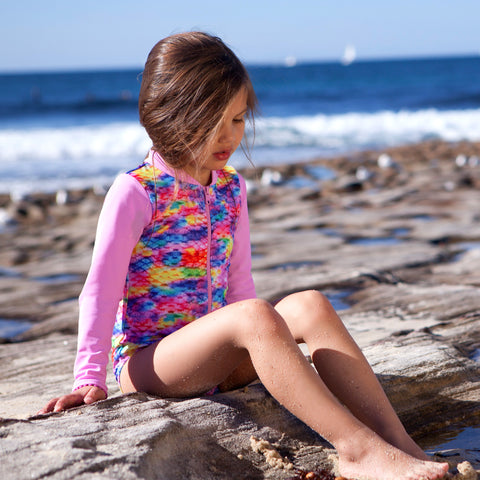 1113 Miss Mermaid Sunsuit