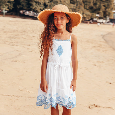 1119 Beach Boho Slip Dress