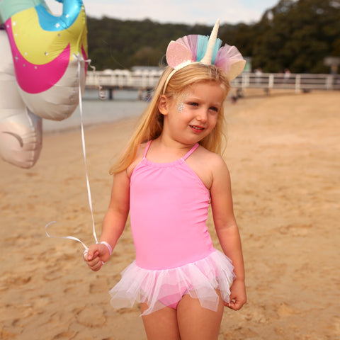 1132 Miss Unicorn Plain TuTu - Salty Ink
