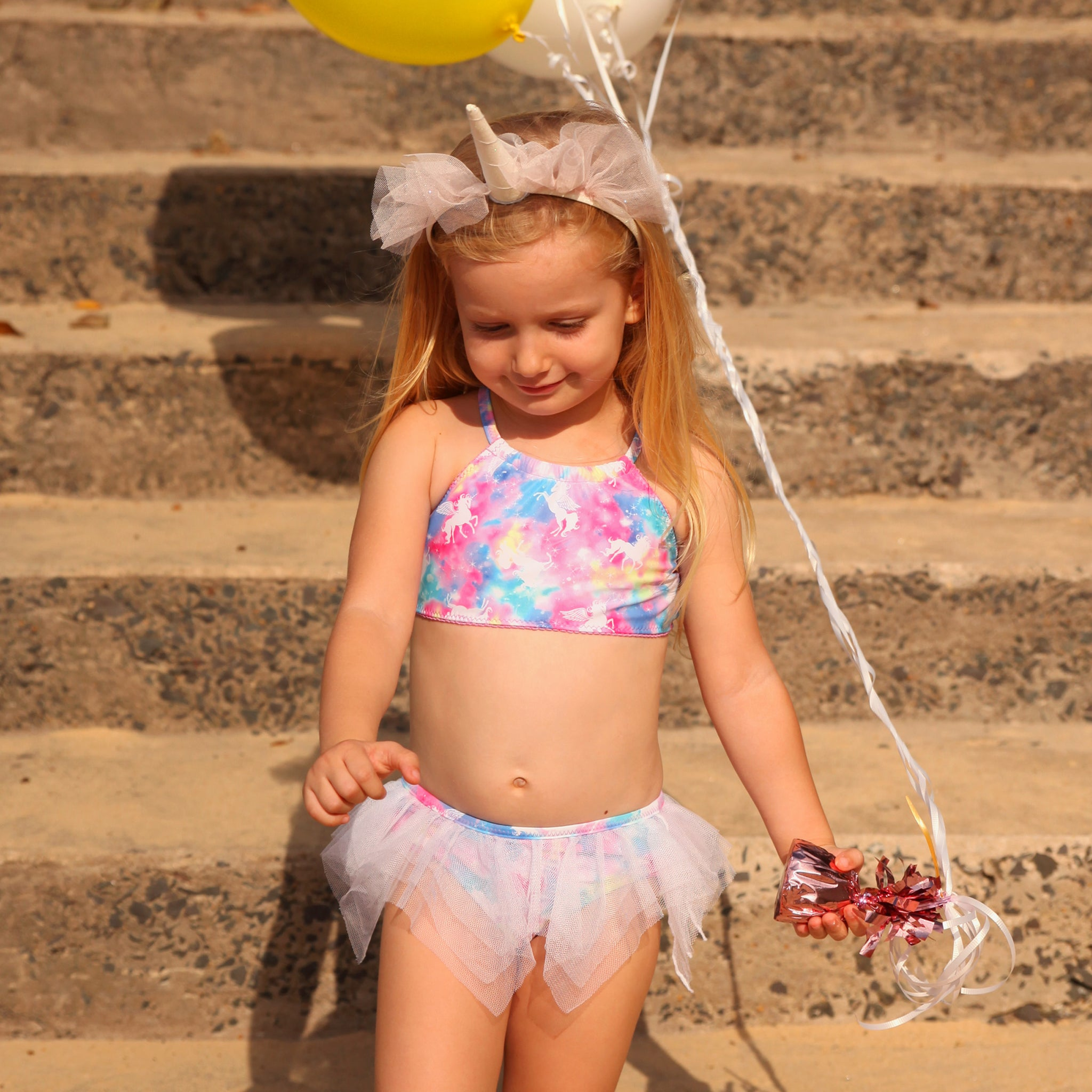1133 Miss Unicorn TuTu Bikini - Salty Ink
