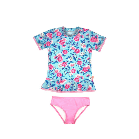 1142 Miss Bouquet Sunvest Set - Salty Ink