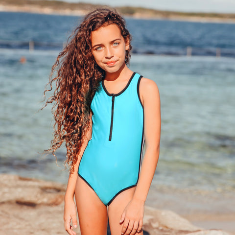 1149 Coco Palms Plain One Piece - Salty Ink