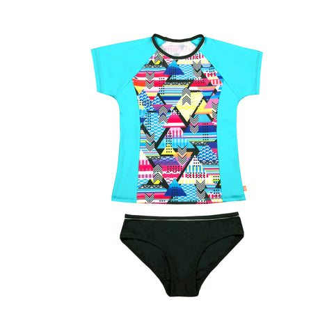 1159 Cosmik Girl Rashvest Set