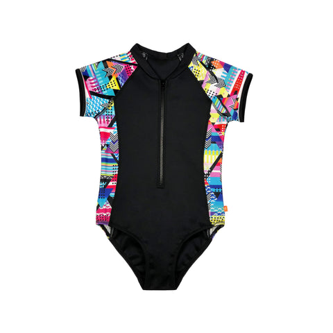 1160 Cosmik Girl Surf suit - Salty Ink