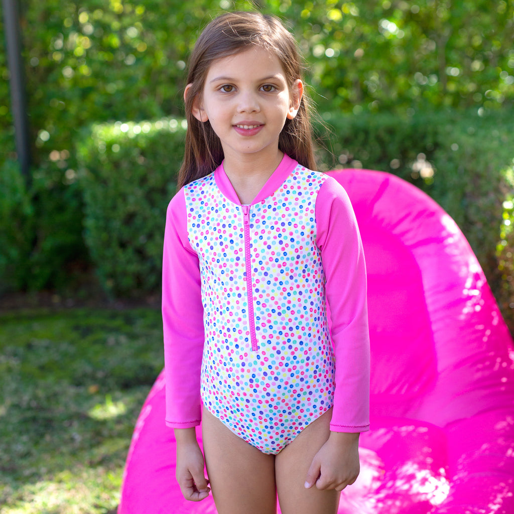 1171 Miss Fruitti Sunsuit Chlorine resist