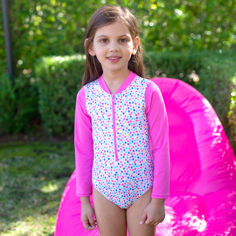 1171 Miss Fruitti Sunsuit - Salty Ink