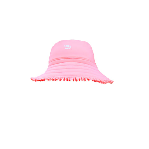 1172 Miss flamingo Sunhat - Salty Ink