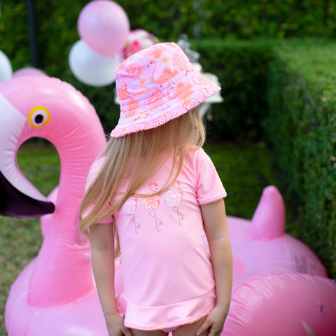 1172 Miss flamingo Sunhat