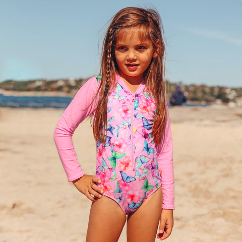 1146 Miss Tahiti Sunsuit - Salty Ink