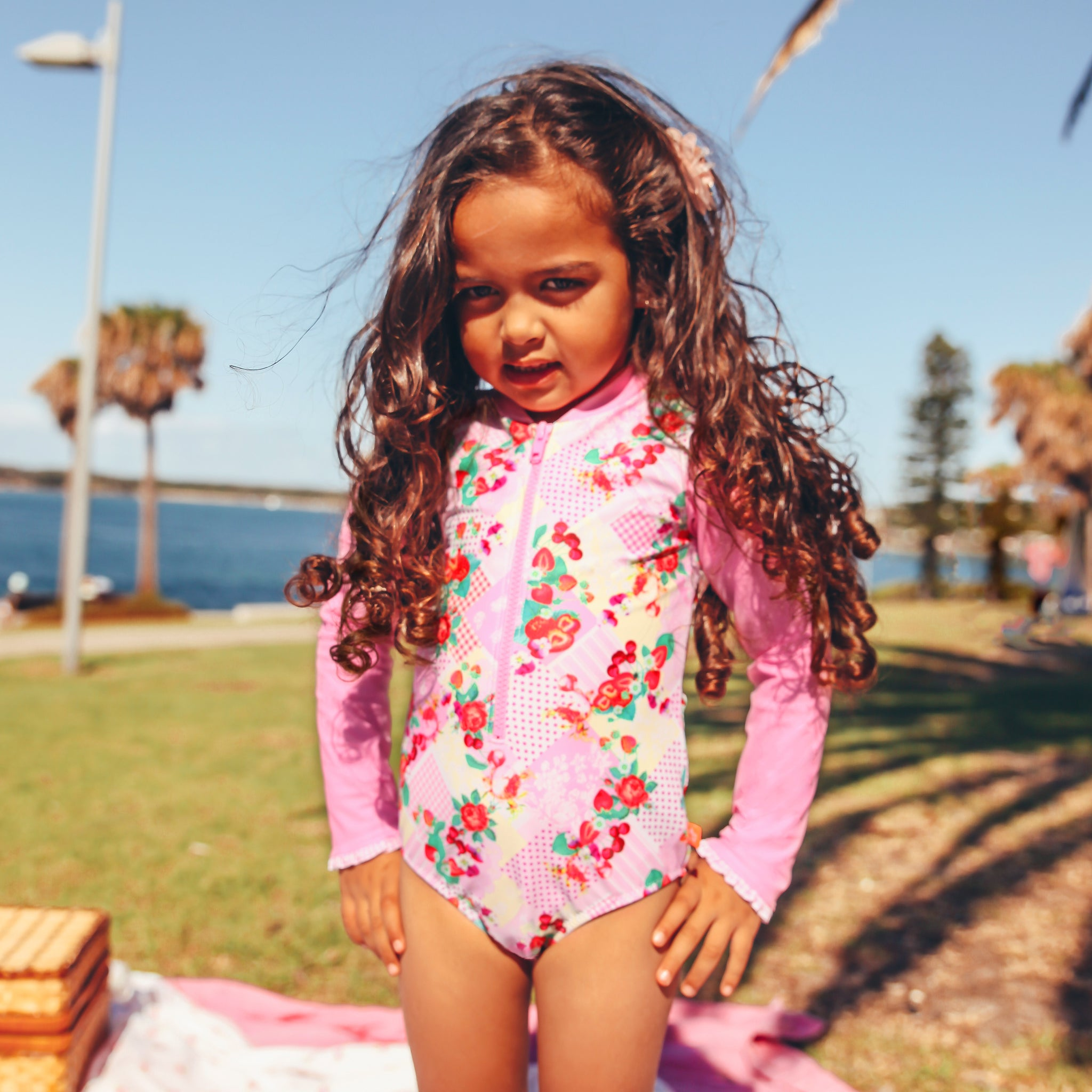 1195 Miss Polly Sunsuit - Salty Ink