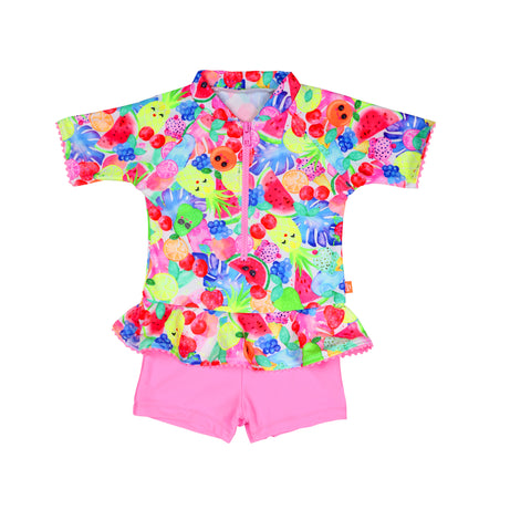 1203 Miss Fruitti Playsuit - Salty Ink
