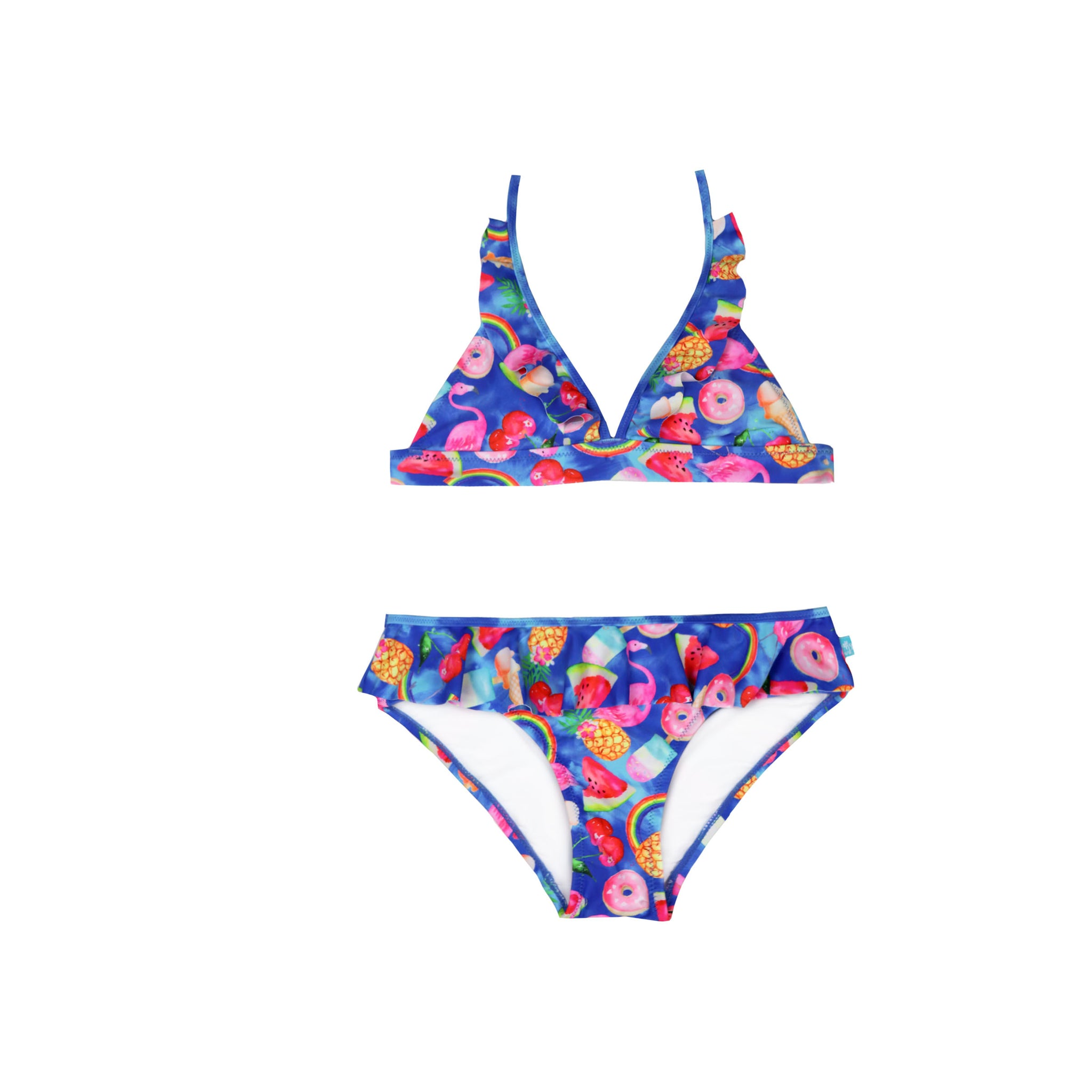 1204 Tropical Punch 70's Bikini - Salty Ink