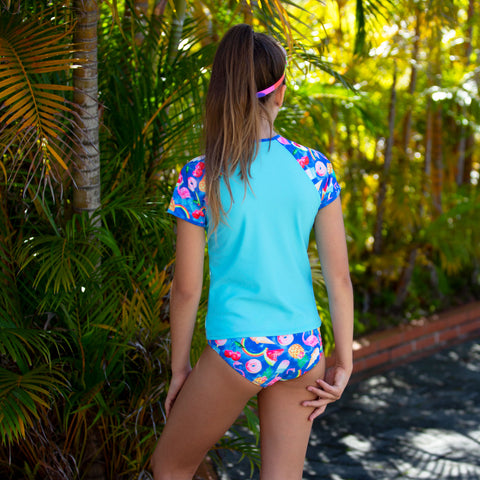 1206 Tropical Punch Rashvest Set - Salty Ink