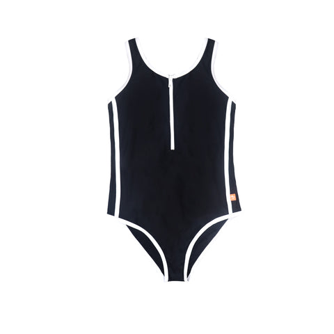 1213 Summer Crush Plain One Piece - Salty Ink