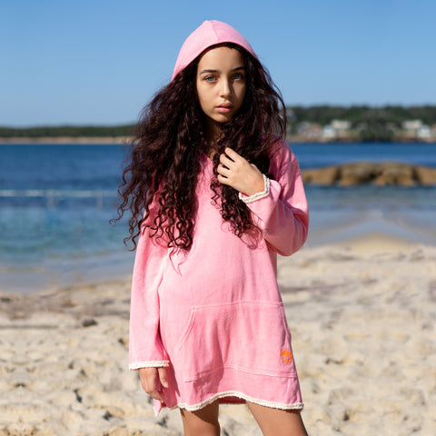 1240 Salty Beach Hoodie Coverup - Salty Ink