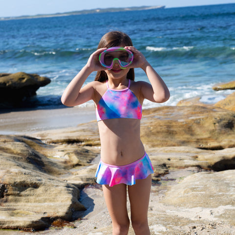 1254 Miss Rainbow Bikini - Salty Ink