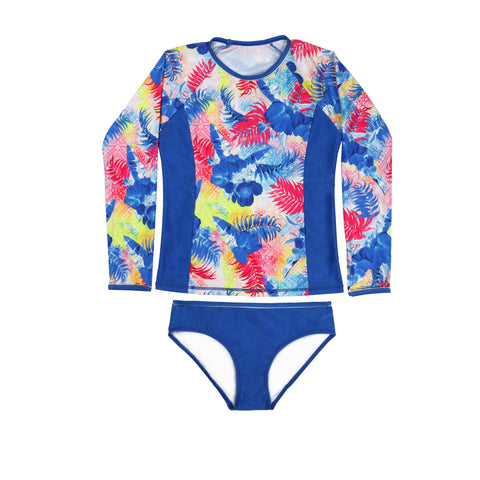 1280 Waikiki Long Sleeve Rashvest Set