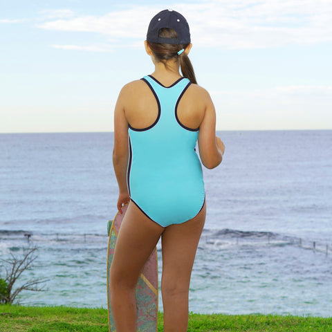 1316 Summer Tribe Plain One Piece