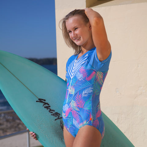 195 Palm Springs Surfsuit - Salty Ink