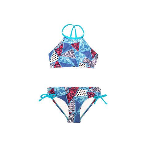 197 Gypsy Splice Bikini - Salty Ink