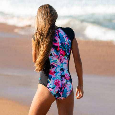 2012 Contiki Cove Surfsuit - Salty Ink