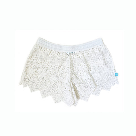 208 Avalon Angel Crochet Short - Salty Ink