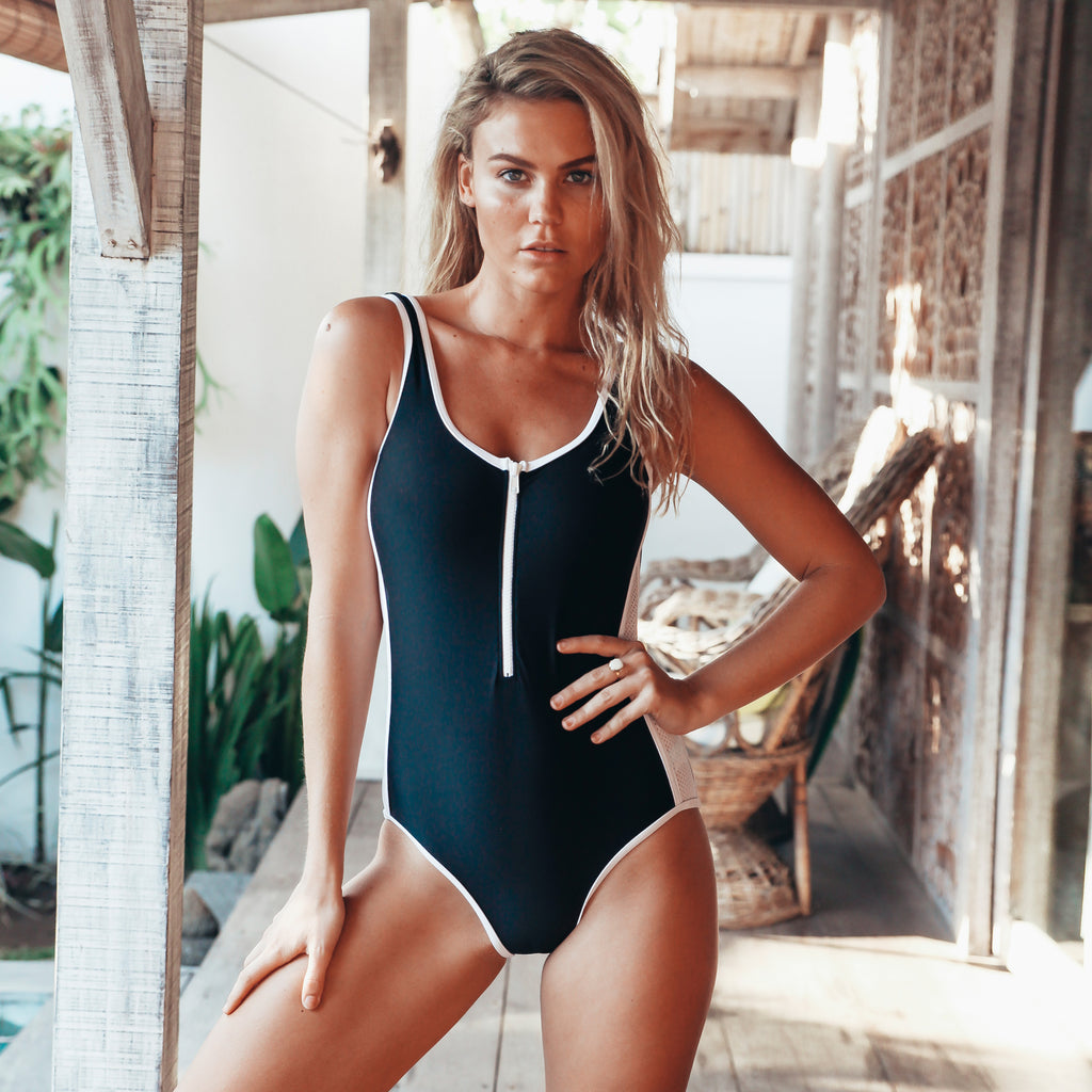 245 Salty Sporty One Piece