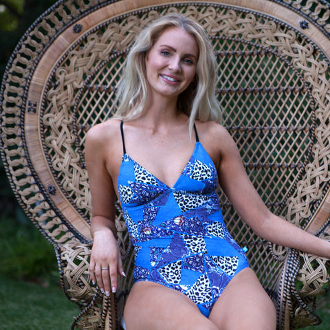 252 Boho Blues One Piece