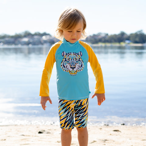 407 Cosmik Roar Long Sleeve Rashvest