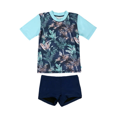 409 Castaway Boys Rashvest Set - Salty Ink