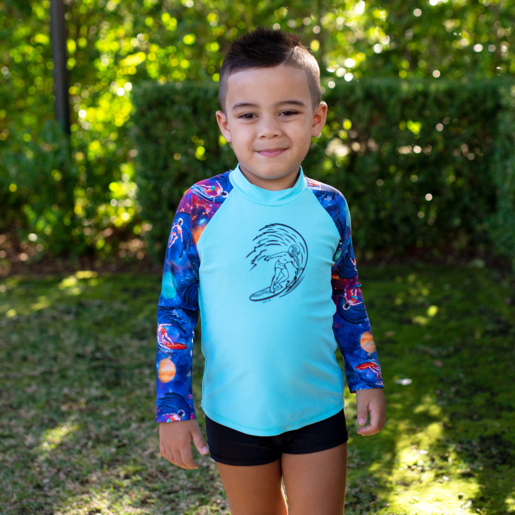 410 Space Surfer Long Sleeve Rashvest Set